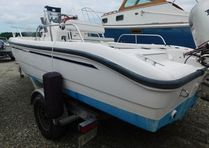 Used Boston Whaler 18 Dauntless Center Console Fishing Boat For Sale