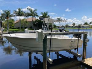 Used Sea Pro 220 CC Saltwater Fishing Boat For Sale