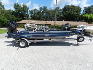 Used Crestliner VT19 Bass Boat For Sale