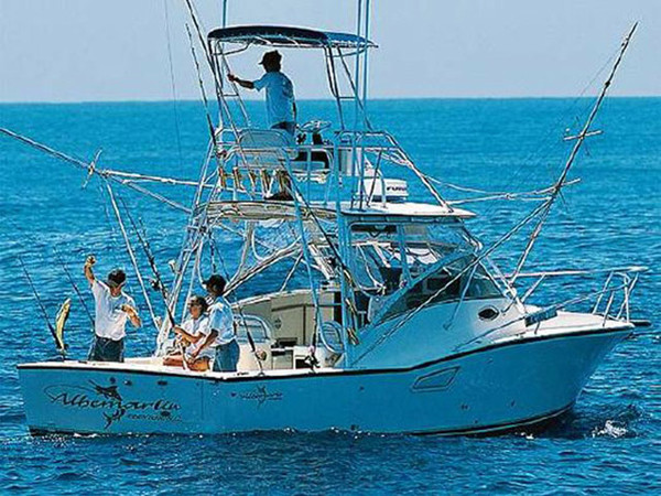 2000 used albemarle 320 express fisherman sports fishing for Express fishing boats for sale