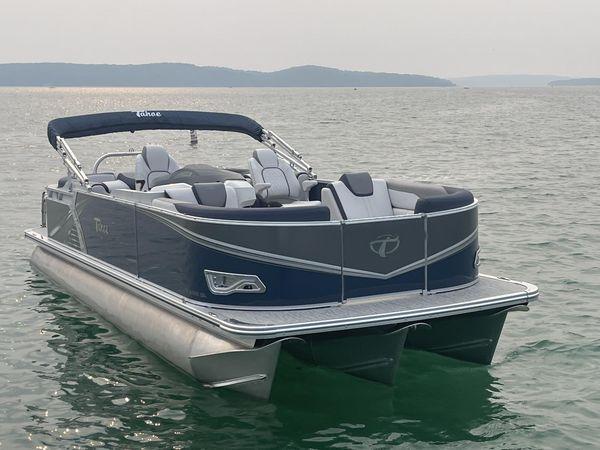 New Tahoe 2485 LTZ Quad Lounger Pontoon Boat For Sale