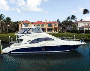 Used Sea Ray 550 Sedan Bridge Flybridge Boat For Sale