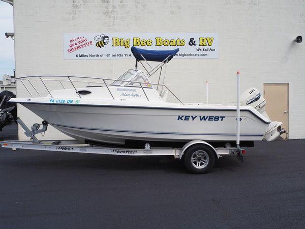Used Key West 2020 Blue Water WA Walkaround Fishing Boat For Sale