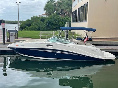 Used Sea Ray 260 Sun Deck Bowrider Boat For Sale