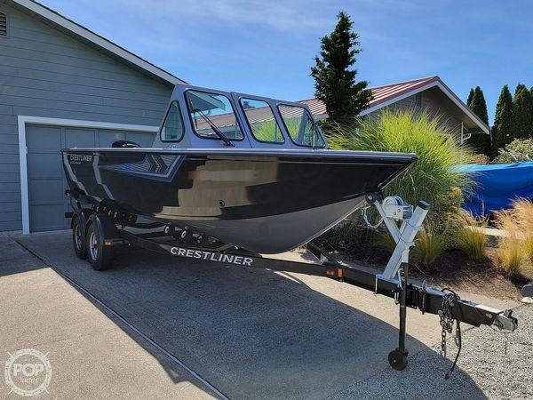Used Crestliner 2050 Commander Aluminum Fishing Boat For Sale