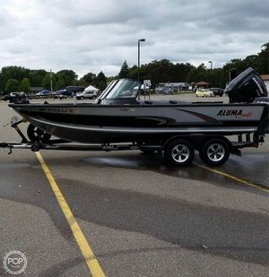 Used Alumacraft T-Pro Sport 195 Aluminum Fishing Boat For Sale