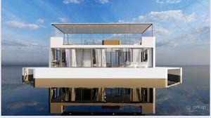 New Custom Arkup 40' Cat Hull Flybridge Boat For Sale