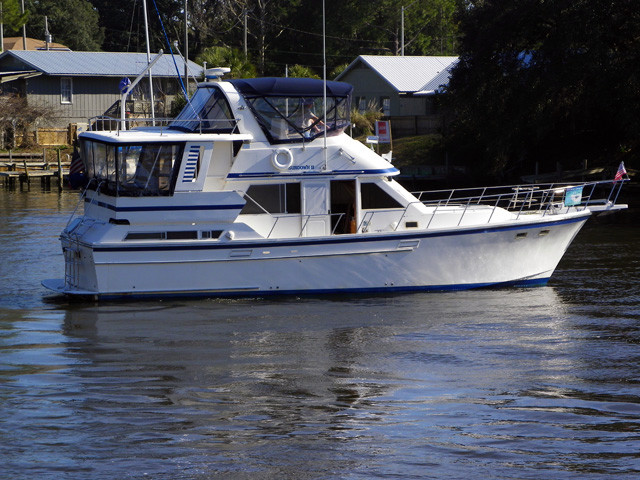 1989 used jefferson aft cabin motoryacht motor yacht for for Motor yachts for sale in florida