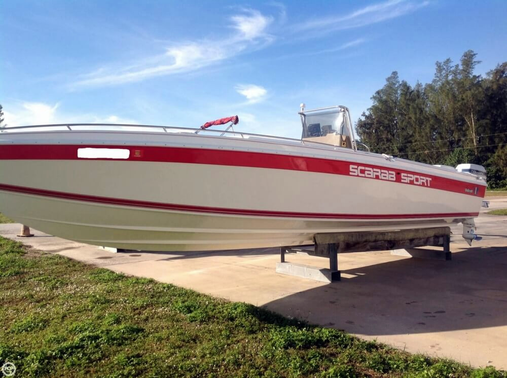 1994 used scarab sport center console fishing boat for for Center console sport fishing boats
