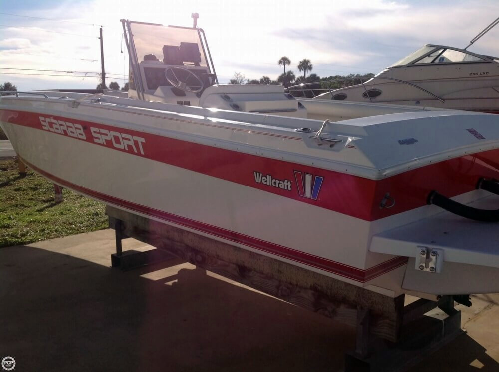 1994 used scarab sport center console fishing boat for for Used sport fishing boats for sale