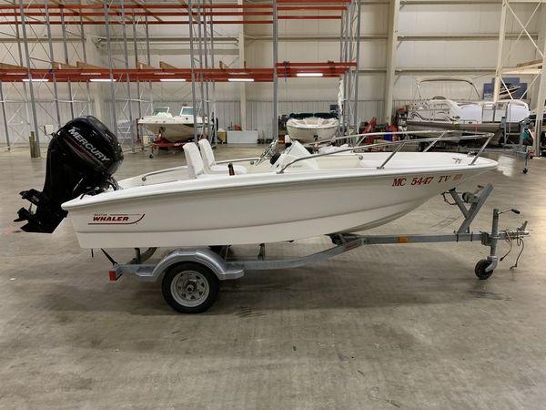 Used Boston Whaler 130 Super Sport Skiff Boat For Sale