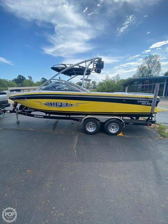 Used Supra 22 SSV Launch Ski and Wakeboard Boat For Sale