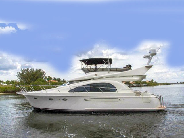 2007 used ocean alexander 46 veloce motor yacht for sale for Used motor yacht for sale