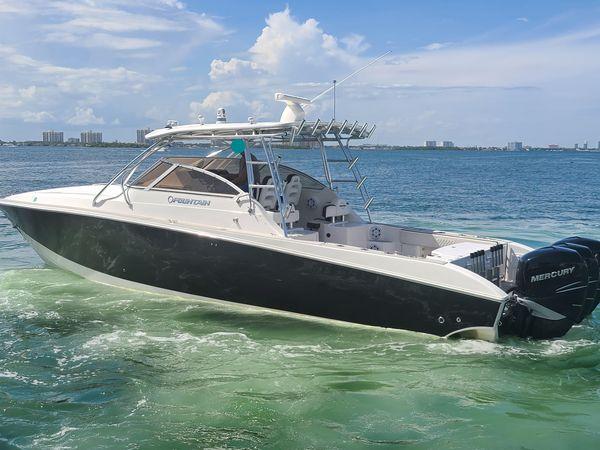 Used Fountain 38 Sportfish Cruiser Center Console Fishing Boat For Sale