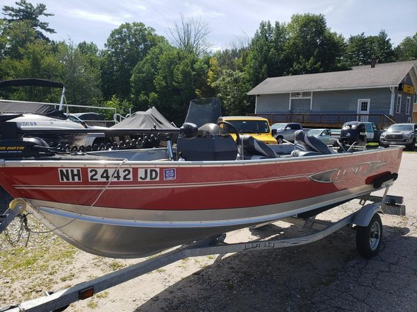 Used Lund 1600 Fury Ski and Fish Boat For Sale