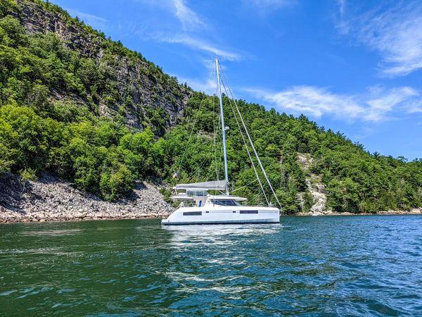 Used Leopard 45 Catamaran Sailboat For Sale