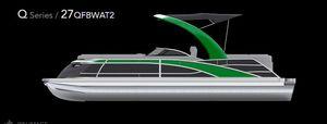 New Bennington 27 QFBWAx2 Pontoon Boat For Sale