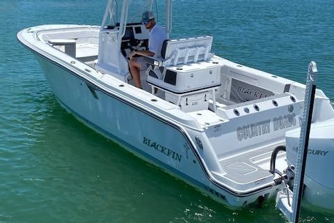 Used Blackfin 25 CC Center Console Fishing Boat For Sale
