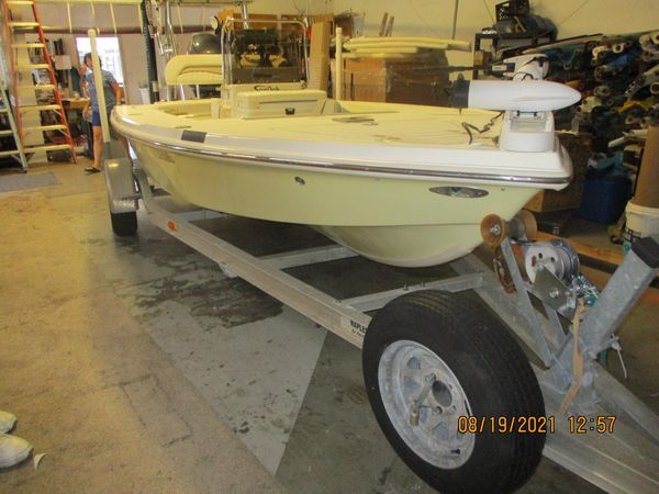 Used Key West 1760 Stealth Saltwater Fishing Boat For Sale