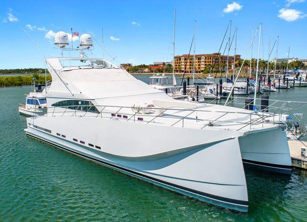 Used Pedigree Cat 75 Passagemaker Power Catamaran Boat For Sale