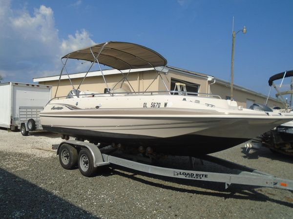Used Hurricane GS 201 Deck Boat For Sale