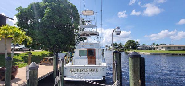 Used Custom 39 Sports Fishing Boat For Sale