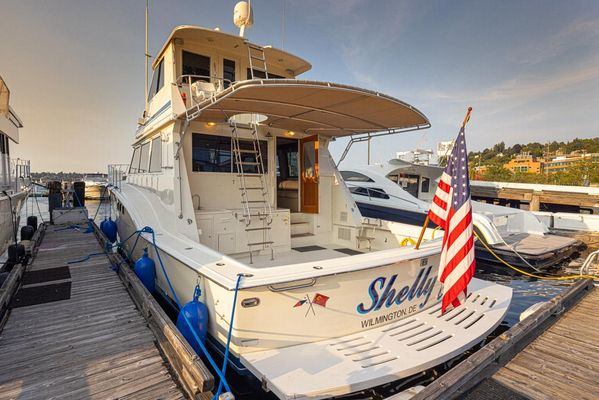 Used Hatteras Enclosed Bridge Motor Yacht For Sale
