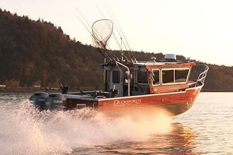 New Duckworth 28 Offshore Freshwater Fishing Boat For Sale