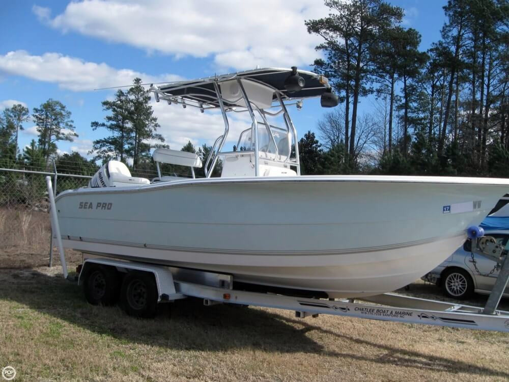 2004 used sea pro 220cc center console fishing boat for for Used fishing boats for sale in eastern nc