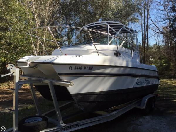 Used Glacier Bay 2270 Islerunner Power Catamaran Boat For Sale