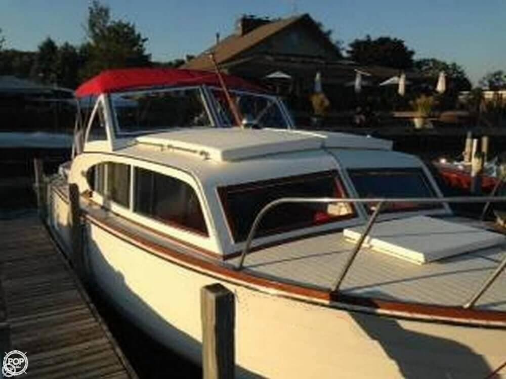 1957 used chris craft sea skiff 26 cabin cruiser antique for Chris craft cruiser for sale