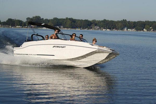 New Starcraft SVX 210 OB Express Cruiser Boat For Sale