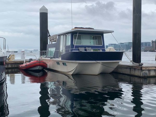 Used Holiday Mansion Barracuda Coastal Cruiser/Houseboat House Boat For Sale