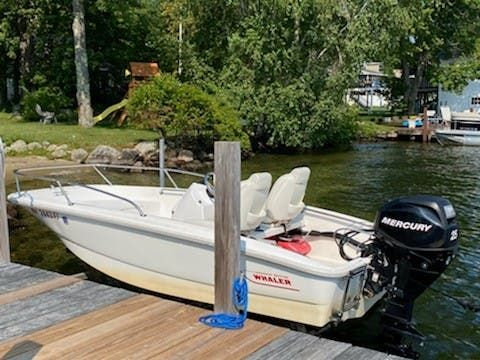 Used Boston Whaler 130 Super Sport Ski and Fish Boat For Sale