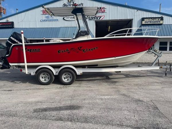Used Mako 212 Center Console Saltwater Fishing Boat For Sale