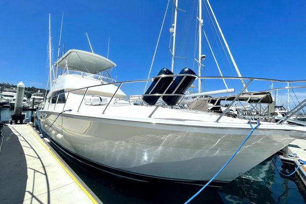 Used Riviera 51' Flybridge Convertible Fishing Boat For Sale