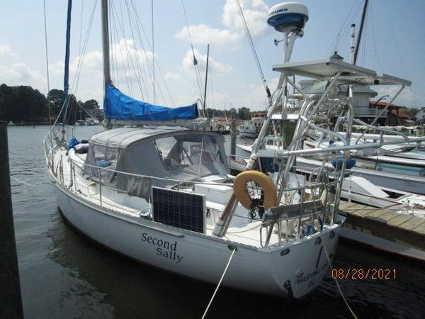 """Used Kelly Peterson """"44"""" KP Center Cockpit Cutter Sailboat For Sale"""