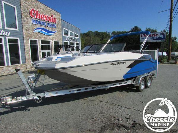 New Starcraft SVX 210 OB Deck Boat For Sale