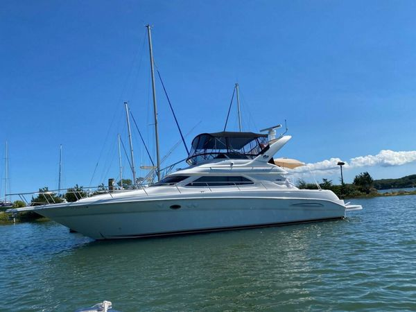 Used Sea Ray 45 Express Bridge Express Cruiser Boat For Sale