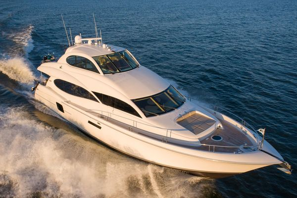 Used Lazzara Yachts Enclosed Bridge Motor Yacht For Sale