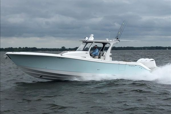 Used Edgewater 370 CC Center Console Fishing Boat For Sale