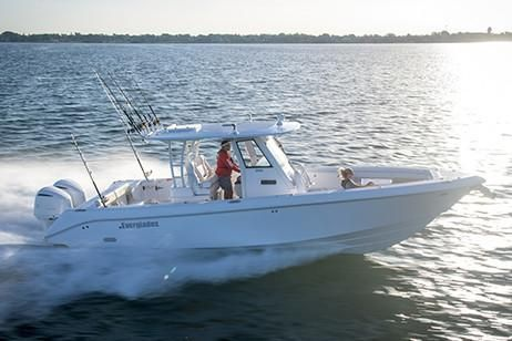 Used Everglades 335 Center Console Center Console Fishing Boat For Sale