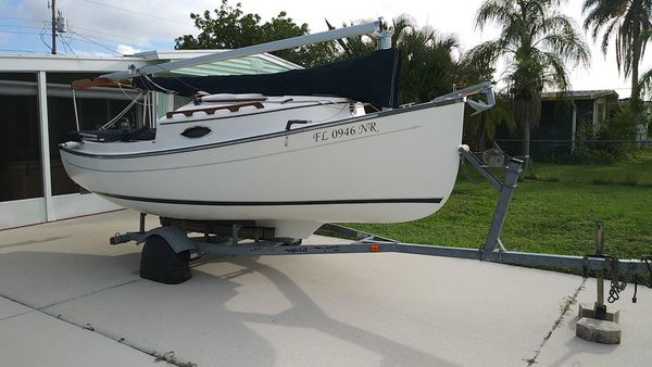 Used Com Pac Sun Cat Daysailer Sailboat For Sale
