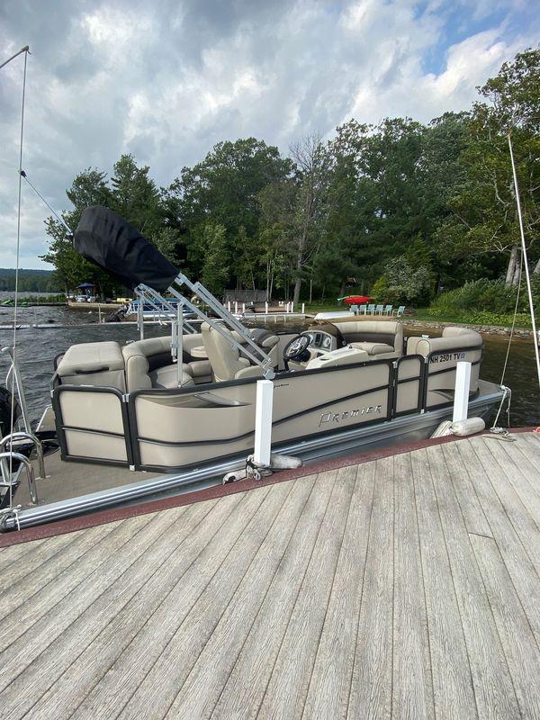 Used Premier Re 200 Sunsation Pontoon Boat For Sale