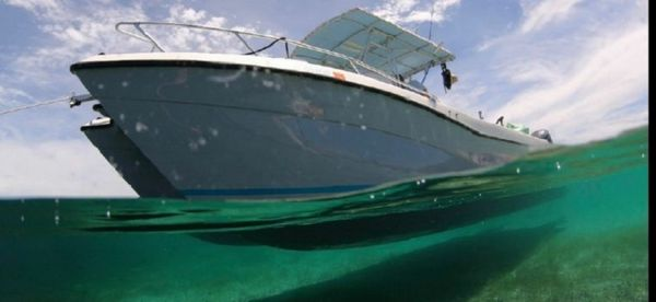 Used Hydrocat 300 C Center Console Fishing Boat For Sale