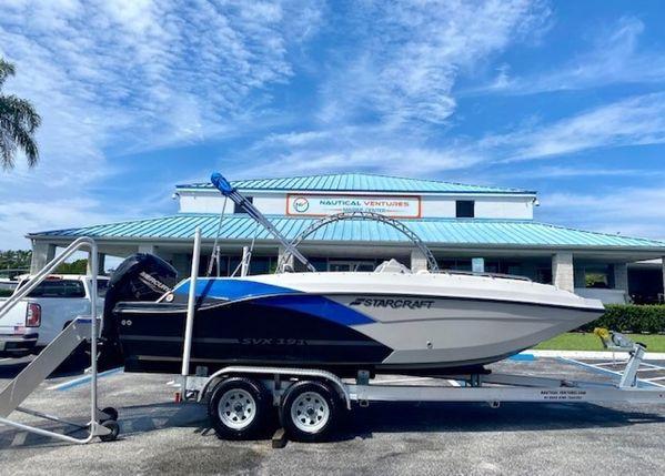 New Starcraft SVX 191 OB Deck Boat For Sale
