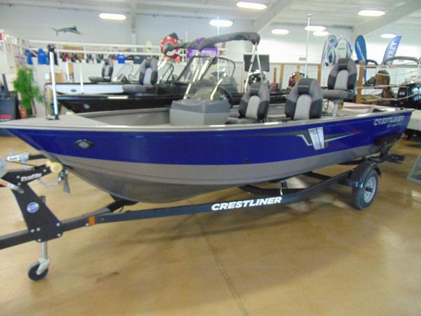 New Crestliner 1650 Discovery Side Console Freshwater Fishing Boat For Sale