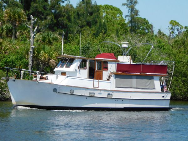 Used Ta Chiao Bluewater Long Range Cruiser Trawler Boat For Sale