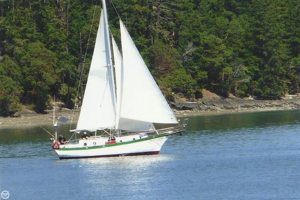Used Custom 35 Cutter Sailboat For Sale