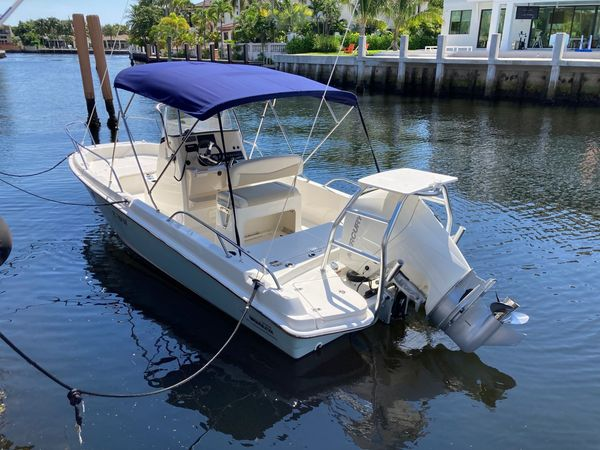 Used Boston Whaler Center Console Fishing Boat For Sale